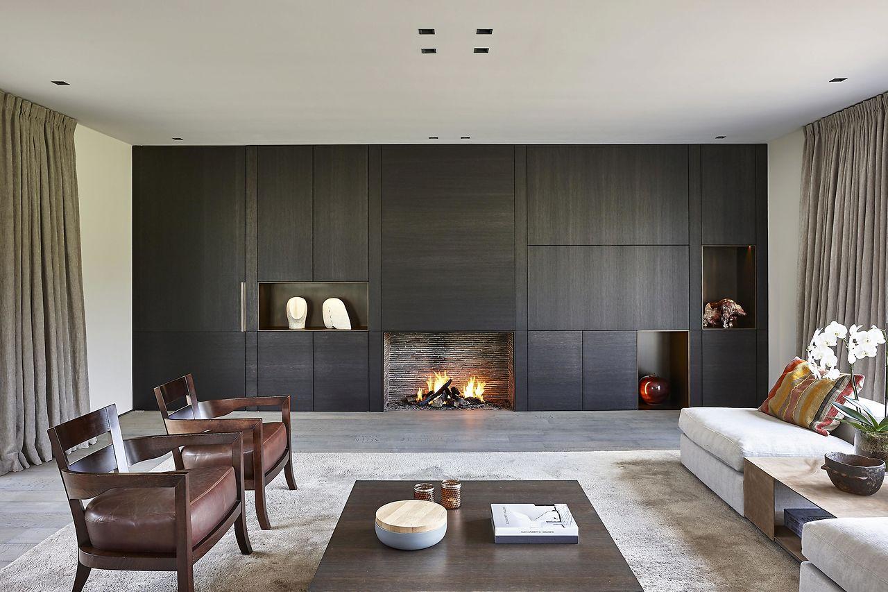 Ii drongen u projecten u de puydt haarden u interiors around fire