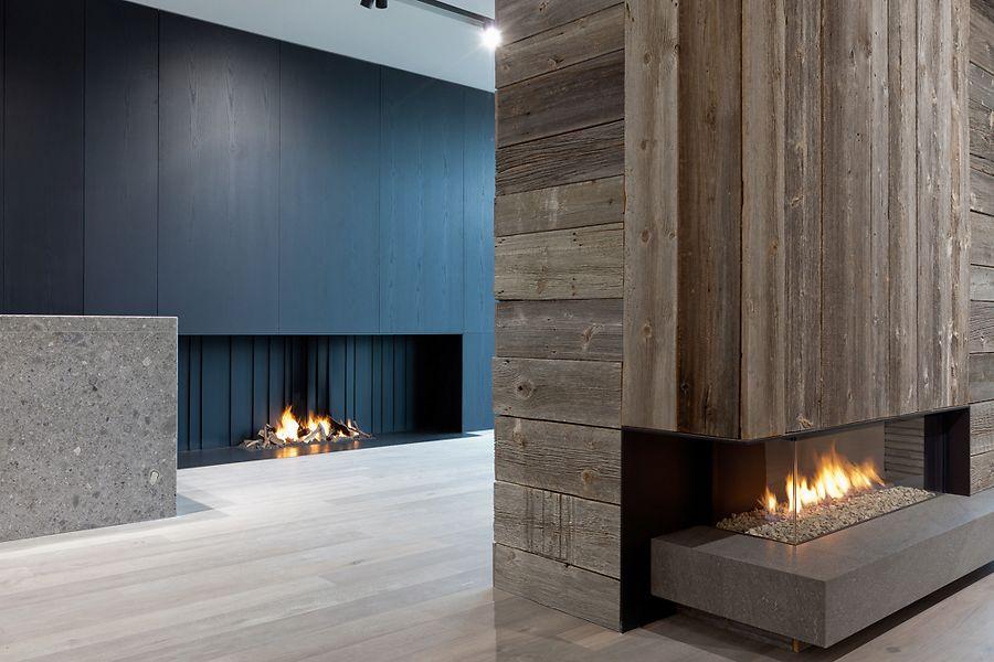 Showrooms u de puydt haarden u interiors around fire
